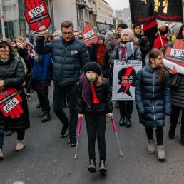 Czarny Piątek na ulicach Warszawy